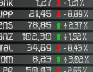 Aktienkurse an der Börse